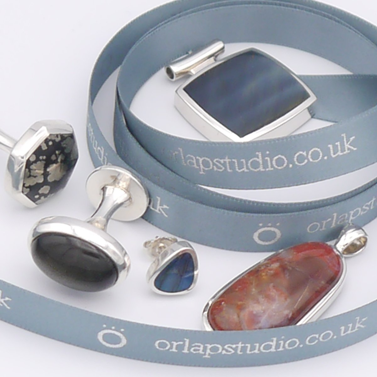 Orlap Studio Etsy Silver Jewellery Cufflink Image